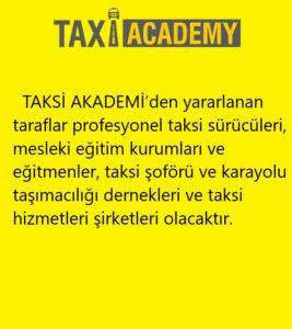 Taksi Akademi nedir?